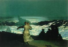 One of my favorite paintings ever- Winslow Homer, Summer Night