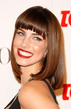 Jessica Lowndes Long Bob Hairstyle