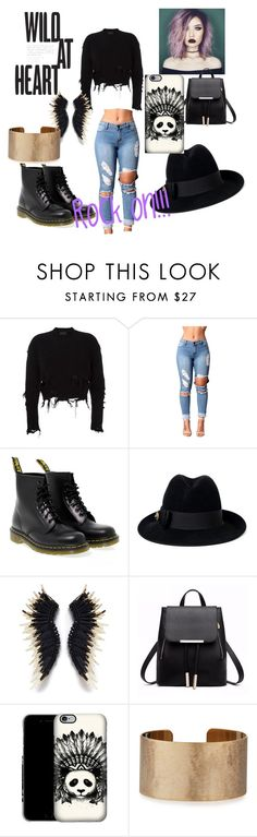 """""""Rock on!!!"""" by divalove22 ❤ liked on Polyvore featuring adidas Originals, Dr. Martens, Gucci and Panacea"""