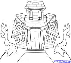 how-to-draw-a-haunted-house-step-8_1_000000032159_5.jpg (1000×896)
