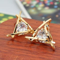 Trying to come up for an elegant present? These Triangle Crystal Stud Earrings are what you're looking for! These gold earrings are perfect for your friend, best friend, girl friend, lover and even your mom and grandmother! Available in gold and silver. Great for any occasions and awesome gift for birthdays, anniversary, Christmas, etc. Are you looking for original ideas for a gift for Christmas and you can't make a worthy choice? Try this  list of best gift ideas which was created by a…