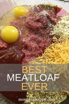 Best Meatloaf Recipe Ever is the perfect dish for your entire family Not only is this recipe easy but it is the most delicious meatloaf recipe you ll ever try bestmeatloafrecipe bestmeatloafrecipes easymeatloafrecipes easymeatloaf bestmeatloaf Most Delicious Meatloaf Recipe, Easy Meatloaf Recipe With Bread Crumbs, Classic Meatloaf Recipe, Meat Loaf Recipe Easy, Stuffed Meatloaf Recipes, Meatloaf Muffins, Traditional Meatloaf Recipes, Beef Recipes, Cooking Recipes