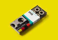 VHS skateboard bearings by GoldCoast skateboards. #bearings #helvetica #VHS in Rad Products