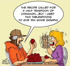 Cinnamon Muffins By Mike Spicer | Media & Culture Cartoon | TOONPOOL
