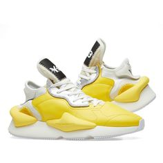 Buy the Kaiwa in Yellow, White & Silver from leading mens fashion retailer END. Trainers, Air Jordans, Kicks, Sneakers Nike, Mens Fashion, Yellow, Silver, Stuff To Buy, Shoes
