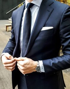The white pocket square is an essential piece every man should own.
