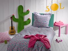Brazil Reversible Duvet & Sham Set by Catimini Bedding at Gilt Kids Room Furniture, Furniture Decor, Nursery Accessories, Cool Kids, Duvet Covers, Comforters, Kids Fashion, Blanket, Brazil