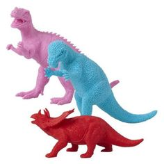 Plastic Dinosaur in Assorted Colours and Design - RICE