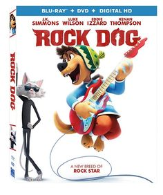 ROCK DOG on Blu-Ray and DVD #Giveaway – The Night Owl Mama