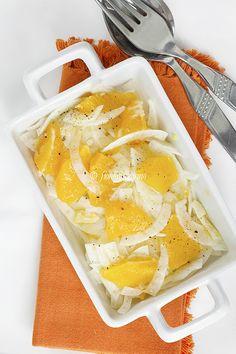 Insalata di finocchi e arance ADORO questo piatto