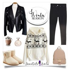 """""""Untitled #45"""" by lea-vehabovic ❤ liked on Polyvore featuring UGG Australia, Alexander McQueen, MICHAEL Michael Kors, women's clothing, women, female, woman, misses and juniors"""