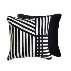 GREG NATALE STRIPES CUSHION - Cushions & Throws - ACCESSORIES - JAMES SAID