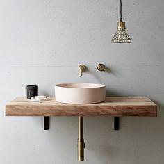 Eclipse Basin by Concrete Nation - Australian Designed Bathroom Basin