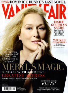 Meryl on Vanity Fair cover Jan 2010 - meryl-streep photo