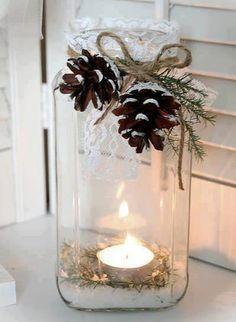 winter tealight.