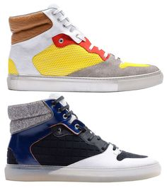 Balenciaga SS12 Sneakers  http://www.creativeboysclub.com/