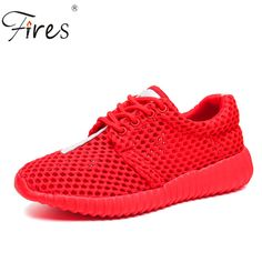 Hot Sale New 2017 Brand Sneakers Women Trainers Summer Breathable Sport Woman Running Shoes Outdoor Walking Women Flats Zapatos #Affiliate