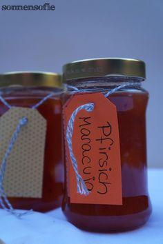 pfirsisch-maracuja marmelade