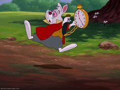 *WHITE RABBIT ~ Alice In Wonderland (1951) - DisneyScreencaps.com