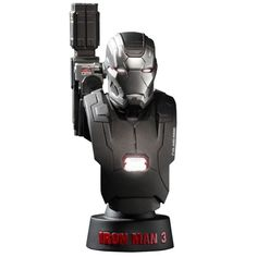 Marvel Iron Man 3 War Machine Mark II 16 Collectible Bust ** You can find more details by visiting the image link.