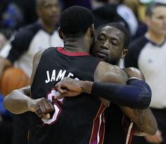 LeBron James expresses concern about Dwyane Wade's health