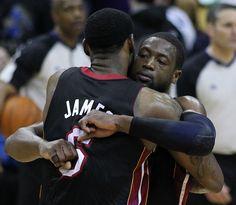 LeBron James expresses concern about Dwyane Wade's health