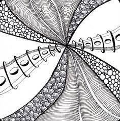 new tangle Coral, Alice Hendon, The Creator's Leaf, www.thecreatorsleaf.com