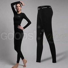 Ladies athlete sports base #layer #compression pants running yoga #leggings skins,  View more on the LINK: http://www.zeppy.io/product/gb/2/281775794911/
