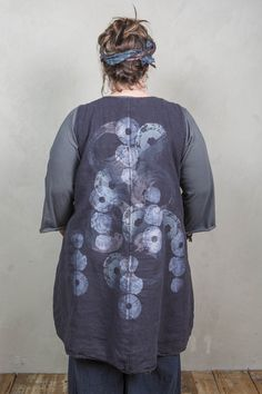 Transitional Midlayer Printed-Blue Fish Clothing