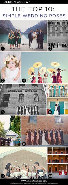 Top 10 Simple Wedding Poses