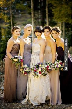 Yes - romantic bridesmaid ideas | CHECK OUT MORE GREAT BLACK AND WHITE WEDDING IDEAS AT WEDDINGPINS.NET | #weddings #wedding #blackandwhitewedding #blackandwhiteweddingphotos #events #forweddings #iloveweddings #blackandwhite #romance #vintage #blackwedding #planners #whitewedding #ceremonyphotos #weddingphotos #weddingpictures
