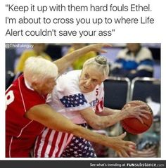 Grandma's got game