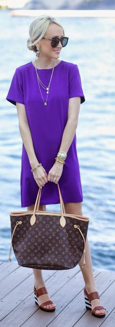 Purple Shift Inspiration Dress by A spoonful of Style