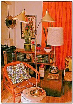 Retro....Laurel Floor Lamp by Thrift Store Addict, via Flickr