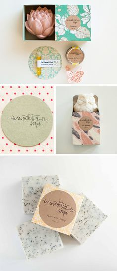 Fácil y Sencillo: Hoy va de ... Jabones y Posavasos / Lovely Soaps