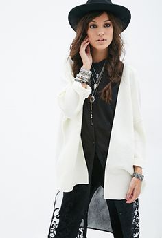 Open-Front Cardigan | FOREVER21 - 2000081640