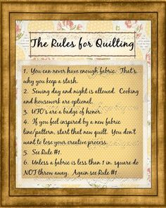 Discover and share Funny Quotes For Quilters. Explore our collection of motivational and famous quotes by authors you know and love. Quilting Room, Quilting Tips, Quilting Tutorials, Hand Quilting, Quilting Projects, Quilting Designs, Sewing Humor, Quilting Quotes, Sewing Quotes