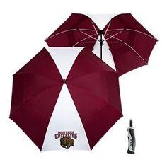 Team Effort NCAA 62'' Windsheer Lite Umbrella - University of Montana