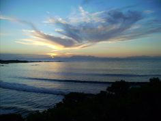 ... because of its amazing views      ... Pringle Bay, False Bay, South Africa      ... when the sun goes down