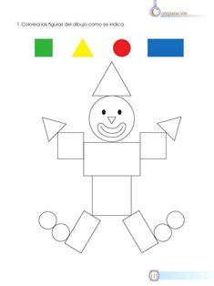 die formen lernen - kreis, rechteck, quadrat, dreieck | formen vorschule, vorschule formenlehre