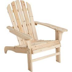 Cedar Adirondack Chair. Only $46!