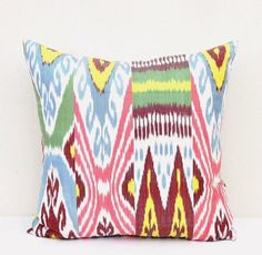 Bukhara Ikat pillow cover - Ikat