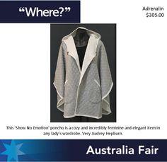 Australia Fair Adrenalin Show No Emotion Poncho