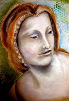 Shiva Paintstiks Portrait Tutorial by Pam Carriker