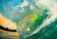 Inside a wave, Clark Little