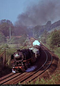 RailPictures.Net Photo: 044 180 Deutsche Bundesbahn Steam 2-10-0 at Herzberg, Germany by J Neu, Berlin