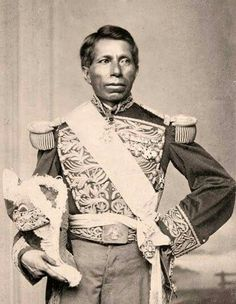 General Tomás Mejía. | Fuerzas del gobierno imperial mexicano.