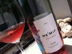 Nk'Mip 2012 Rosé http://tastingroomconfidential.com/drinking-bc-on-canada-day/#.UdCCX-C3dgJ