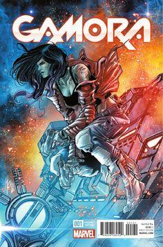 Preview: Gamora #1, Story: Nicole Perlman Art: Marco Checchetto Cover: Esad Ribic