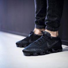 Nike Vapormax All Black On Feet
